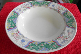 "MIKASA PROVENCIAL VILLA MEDICI, CV900, 10-1/4"" large vegetable bowl disc... - $41.57"