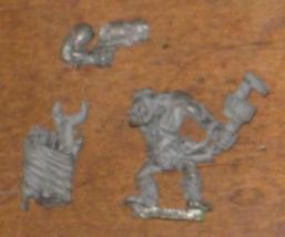 * Warhammer 40,000 GorkaMorka Metal Ork Spanner... - $9.50