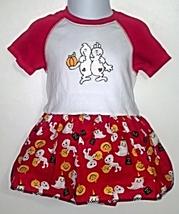 Infant Embroidered Bodysuit Skirt Halloween 24 months + Hair Clip - $21.95