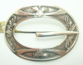 Unger Brothers Sterling Buckle Pin (#J2614) - $300.00