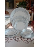 Noritake BLUERIDGE 7 PC PLACE SETTING, mint condition, Discoontinued - $34.56