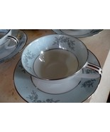 Noritake BLUERIDGE cup and saucer set, mint condition, Discoontinued - $7.99