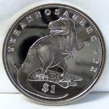 SIERRA LEONE SLE TYRANNOSAURUS REX T-REX DINOSAUR 2006 CUNI Coin Uncircu... - $22.53