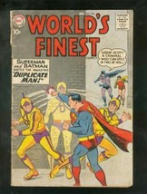 WORLD'S FINEST #106 1959-SUPERMAN-GREEN ARROW-BATMAN-DC G - $31.53