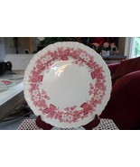 "Wedgwood Bramble Pink/Rosa/Red 10"" dinner plate(s), Vintage - $27.72"