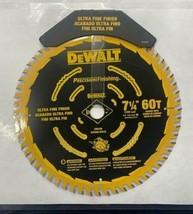 """DEWALT DW3596 7-1/4"""" x 60T Precision Finishing Saw Blade BULK - $21.78"""