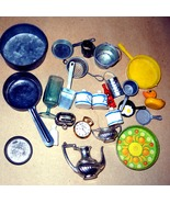 Doll House Pots & Pans & Other Kitchen  Doll House Kitchen Materials - $9.95