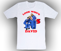 Imagination Movers Personalized White Birthday Shirt - $14.99+