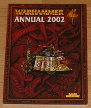* Warhammer Annual 2002 Games Workshop OOP - $10.00