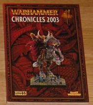 * Warhammer Chronicles 2003 Games Workshop OOP - $10.00