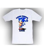 Sonic hedgehog Personalized White Birthday Shirt - $14.99+