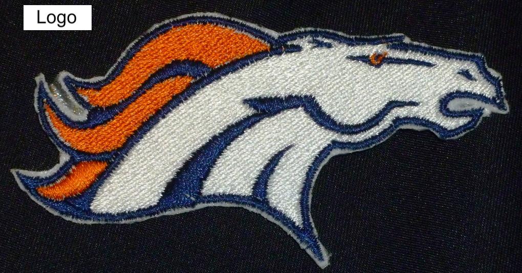 Denver Broncos logo Iron On Patch