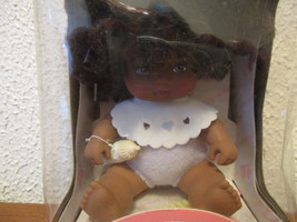 1987 Hasbro Love A Bye Baby African American Doll diaper, bottle, comb a... - $9.99