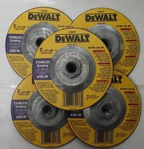 "DEWALT DW8217H 5/"" x 5//8/"" 11 120g XP Flap Disc 5pcs."