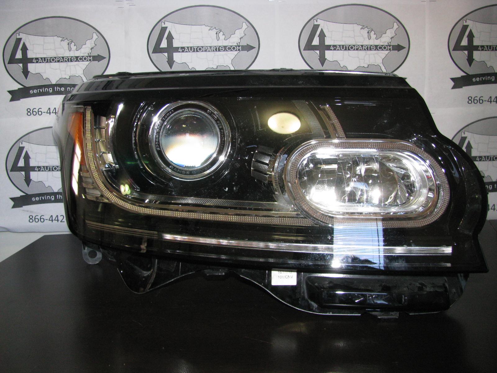 2013 2014 range rover hse right xenon hid headlight w. Black Bedroom Furniture Sets. Home Design Ideas