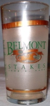 Belmont Stakes Glass 2002 - $5.00