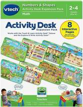 New VTech Activity Desk Expansion Pack Numbers & Shapes (English Version) - $29.69