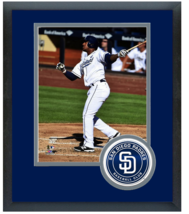 Rymer Liriano 2014 San Diego Padres- 11 x 14 Team Logo Matted/ Framed Photo - $43.55