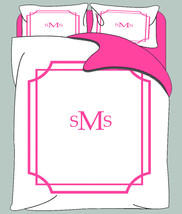 Simplicity Mitre Corner Duvet & Shams- Twin, Queen or King size - Your Choice of - $139.00