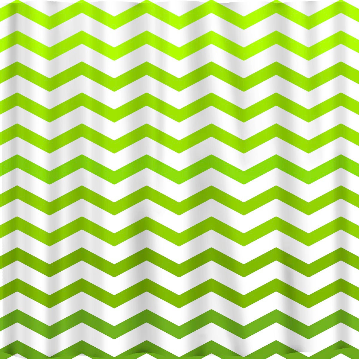 Ombre FADE CHEVRON Shower Curtains available in 13 colors. image 5