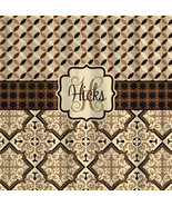 Custom Personalized Designer Shower Curtain -Country Mediterranean Brown... - $78.00