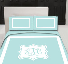 Simplicity  Designer  Duvet Cover and shams - Personalized - Any color of your c - $139.00