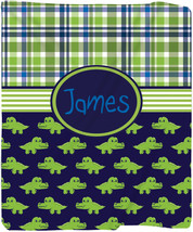 Personalized Later Gator Plush Fleece Blanket - Other Themes Available - $39.99