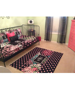 Floral Daybed Set  Monogram Duvet Bedding - Personalized - Twin Size and... - $189.00