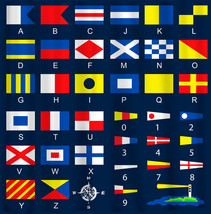 Custom  Shower Curtain - Nautical Flags - can personalize with your name - $78.00