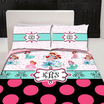 Custom Duvet Cover - Various Inspired PRINCESS Bedding - Personalized with Your  - $139.00