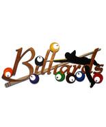 SPECIAL for MONA - Billiards wood Wall decor, Sports bar Wall Art,Rack E... - $296.99