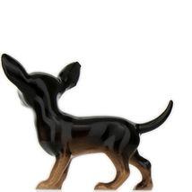 Hagen Renaker Dog Chihuahua Small Black and Tan Ceramic Figurine image 6