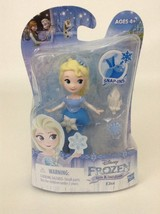 Disney Frozen Little Kingdom Princess Elsa Doll Snap Ins Hasbro New Sealed - $8.86