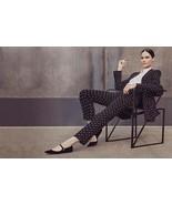 Givenchy Blazer Jacket Black White Plus Cross Cady Print Ad NWT $2630 38 - $573.21
