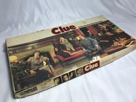 CLUE Detective Board Game Parker Brothers Vintage 1972 COMLETE  - $14.83