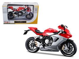 2012 MV Agusta F3 Red Bike Motorcycle 1/12 Diecast Model by Maisto - $17.99