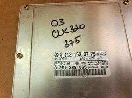 05 Mercedes W209 CLK320 Engine Computer Ignition FOB ECU EIS ISL Set A1121533779 image 6