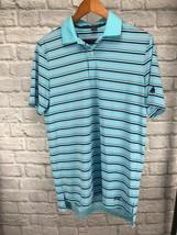 RLX Ralph Lauren Golf Blue Black White Pink Stretch Polo Shirt Men's S $... - $29.39