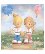 Precious Moments Friends For Life Breast Cancer Figurine - $50.00