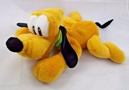 "Pluto Dog Bean Plush 10"" Long Walt Disney World Stuffed Animal toy - $6.95"