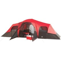 Family Tent 10 Person 3 Room Camping Cabin Rainfly Accessory Outdoor Sle... - $155.00