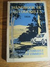 1924 Handbook of Automobiles Hand Book, Auburn Buick Cadillac Packard VG - $113.85
