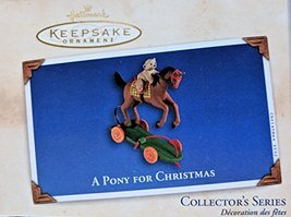 Hallmark A Pony For Christmas Keepsake Ornament 5th in Series - $2.82