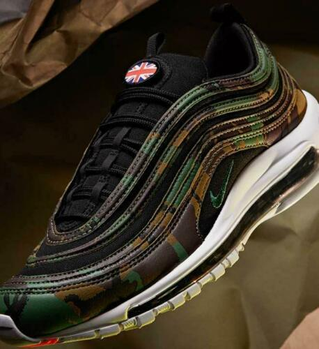 Auténtico Nike Air Max 97 Country Camuflaje GB Limited Shoes Eu 11 Japonés 29cm