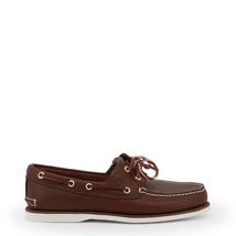 Timberland Schuhe CLASSIC BOAT, Herren Mokassins Braun/Braun elegante Ha... - €142,41 EUR