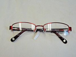 Nine West burgundy semi-rimless eyeglass frame   NW1009 - $34.99
