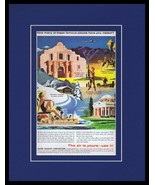 1957 United Aircraft Corporation Framed 11x14 ORIGINAL Vintage Advertise... - $46.39