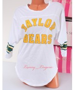 PINK VS Collegiate Collection Baylor Bears 3/4 Sleeve Crew T-Shirt Jerse... - $44.99