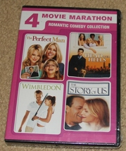 NEW & SEALED DVD - Romantic Comedy Collection - Perfect Man - Wimbleton ... - $6.99