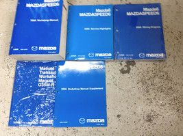 2006 Mazda 6 MAZDASPEED6 Mazda6 Service Repair Workshop Shop Manual Set ... - $217.75